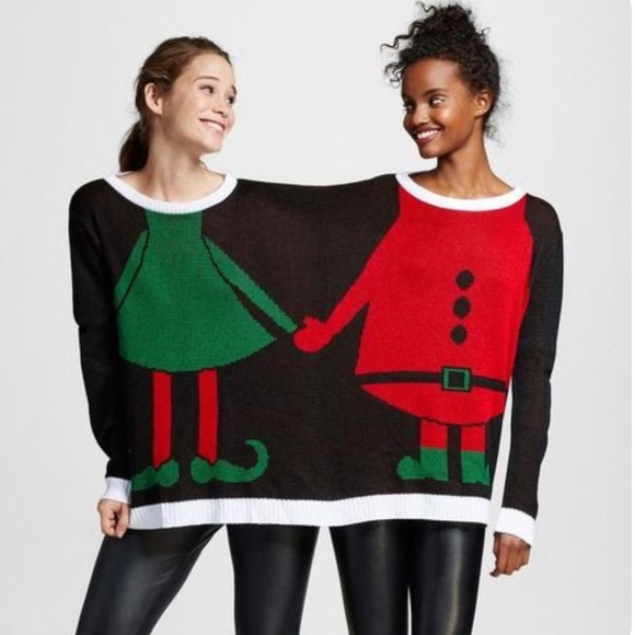 2 Person Christmas Sweater.Christmas 2 Person Sweater